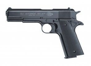 Signalpistole Colt Government 1911 A1 Cal. 9 mm brüniert