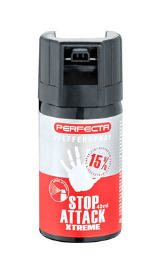 Perfecta Pfefferspray 15% OC Inhalt: 40 ml