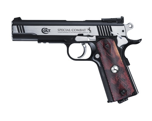 Colt Special Combat Classic cal. 4,5 mm (.177) BB - Bicolor CO2 Luftpistole
