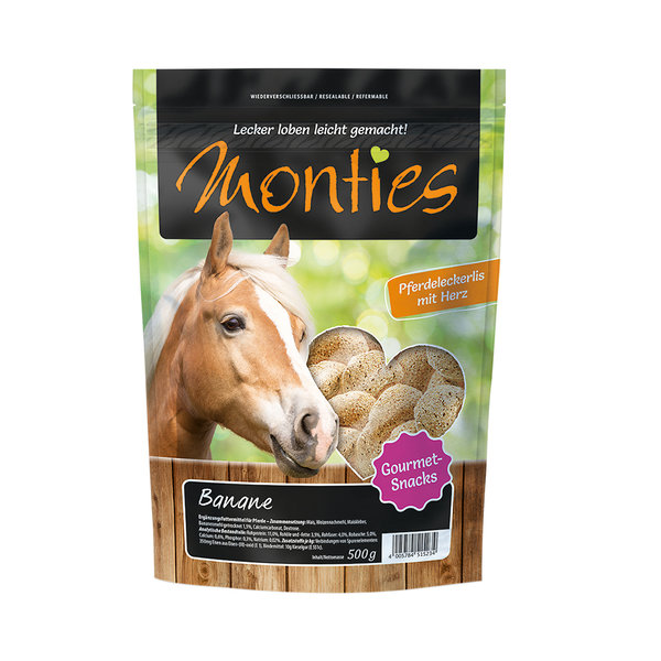 ALLCO MONTIES BANANE-SNACKS 500g