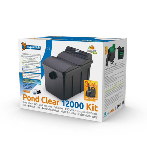 SuperFish PondClear Kit 12000