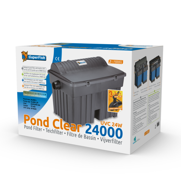 SuperFish PondClear Kit 24000