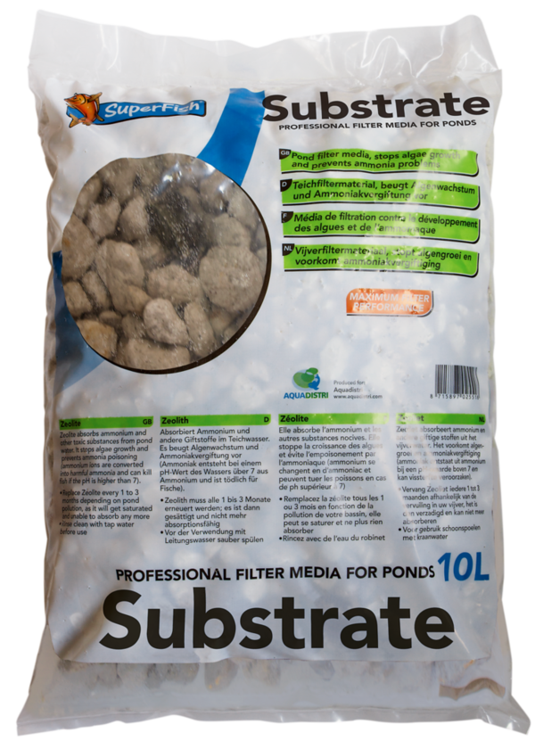 SuperFish Filtersubstrat 10 L