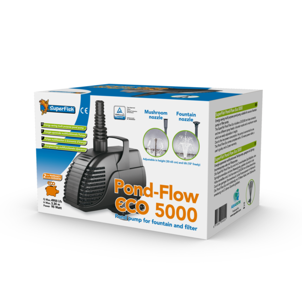 Teichpumpe SuperFish Pond Flow Eco 5000