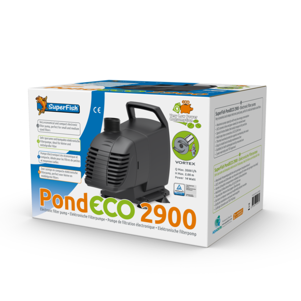 Teichpumpe SuperFish Pond Eco 2900-14 Watt