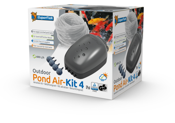 SuperFish Pond Air Kit 4 - Teichbelüftung