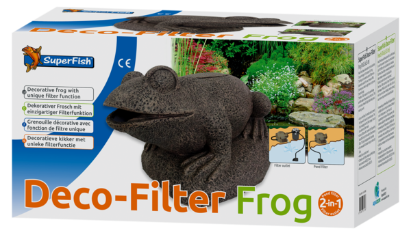 SuperFish Filter Frosch