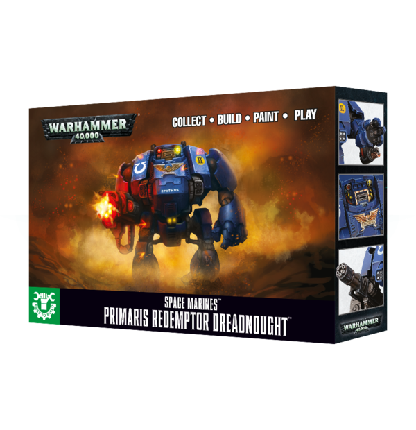 Easy To Build Primaris Redemptor Dreadnought Space Marines