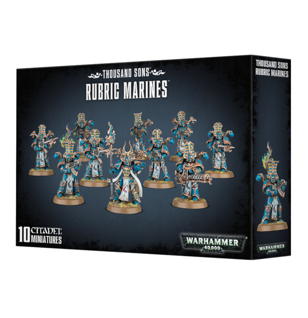 Warhammer 40000 Thousand Sons Rubric Marines