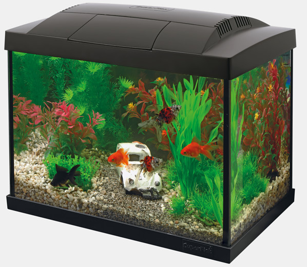 Nano Aquarium Superfish Start 20 Kit schwarz