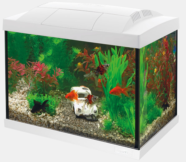 Nano Aquarium Superfish Start 20 Kit weiss