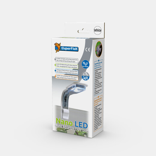 Nano Aquarium LED Lampe weiss