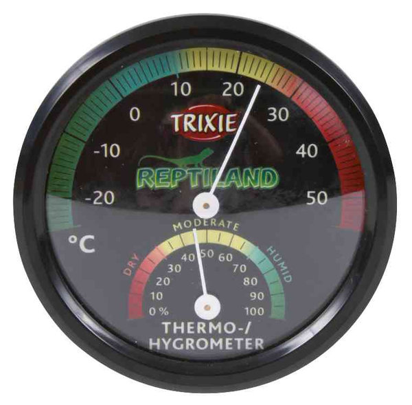 Trixie Reptiland Thermo-/Hygrometer, analog