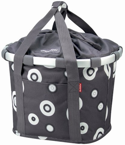 Reisenthel Bikebasket Bubbles Anthracite