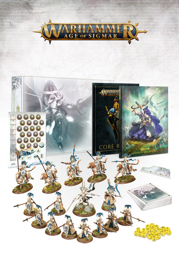 Warhammer Age of Sigmar Lumineth Realm-lords – Armeeset