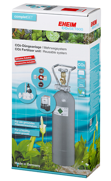 Eheim CO2 Set 600 inklusive Flasche