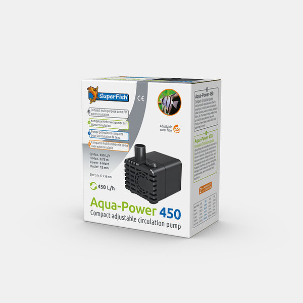 Aquapower Pumpe 450 - 450L/H