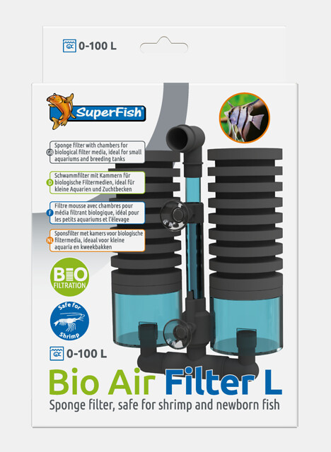 Bio Air Filter L für Luftpumpen