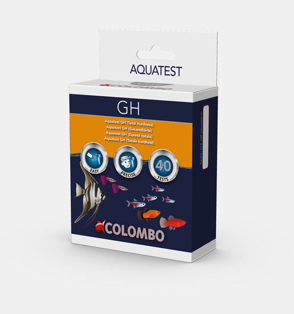 Colombo Aqua GH Test - Wassertest für 40 Tests