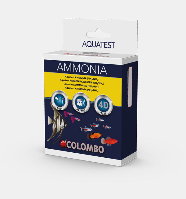 Colombo Aqua Ammoniak NH3 Test - Wassertest für 40 Tests