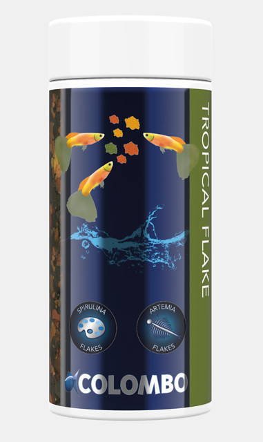 Colombo Tropical Flocken Fischfutter 250 ml