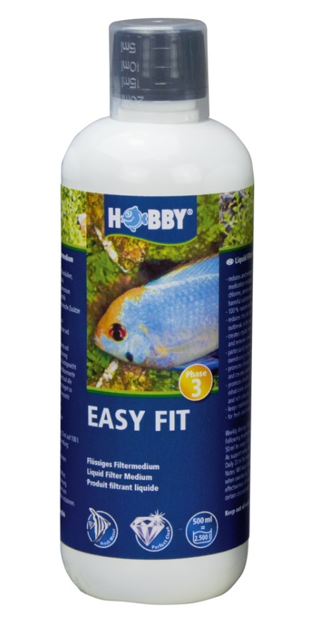 HOBBY Easy Fit , flüssiges Filtermedium 500 ml