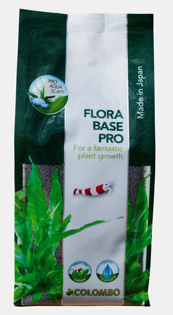 Colombo Flora Base Pro klein 1 Liter - 800g Made in Japan